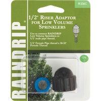 Raindrip Sprinkler-To-Drip Adapter, R336CT