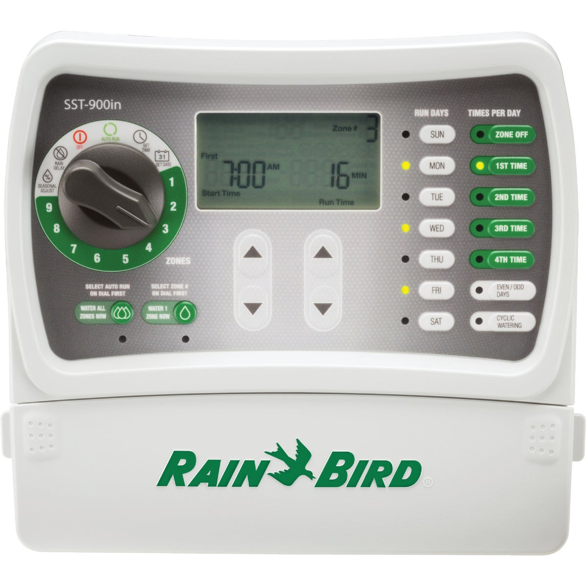 9 STATION TIMER - SST-900I by Rain Bird Corp Consu