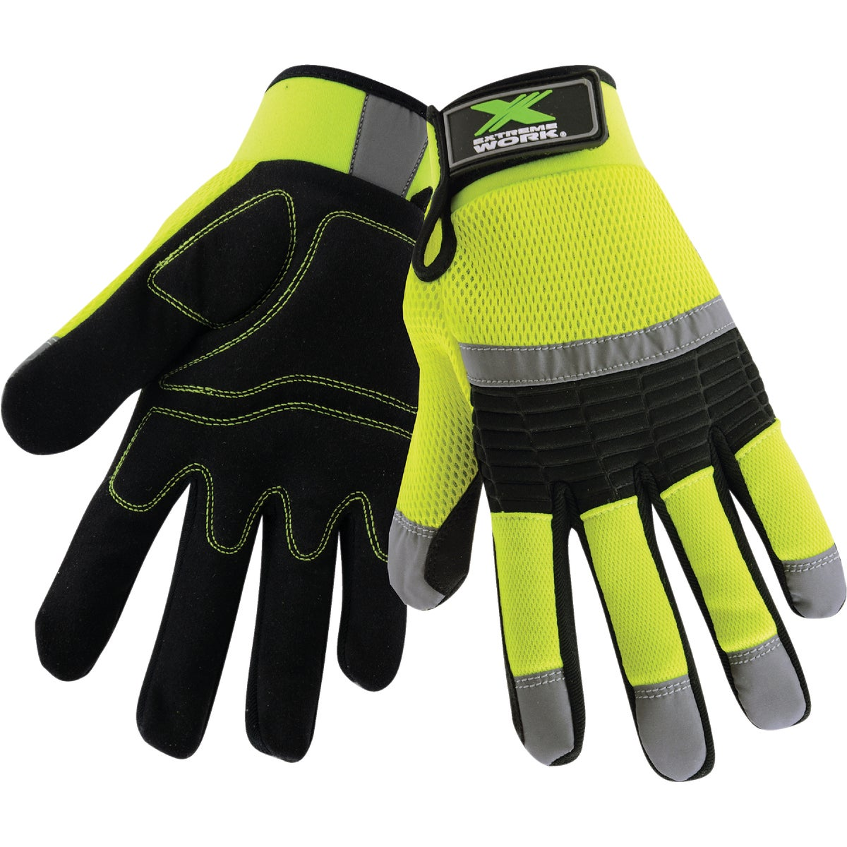 MED HIVISIBILITY GLOVE