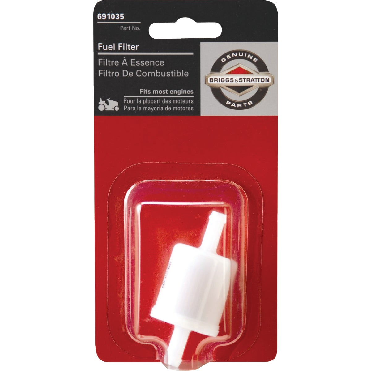 LAWN TRACTOR FUEL FILTER - 5065K by Centrl Pwr Sys/brigg