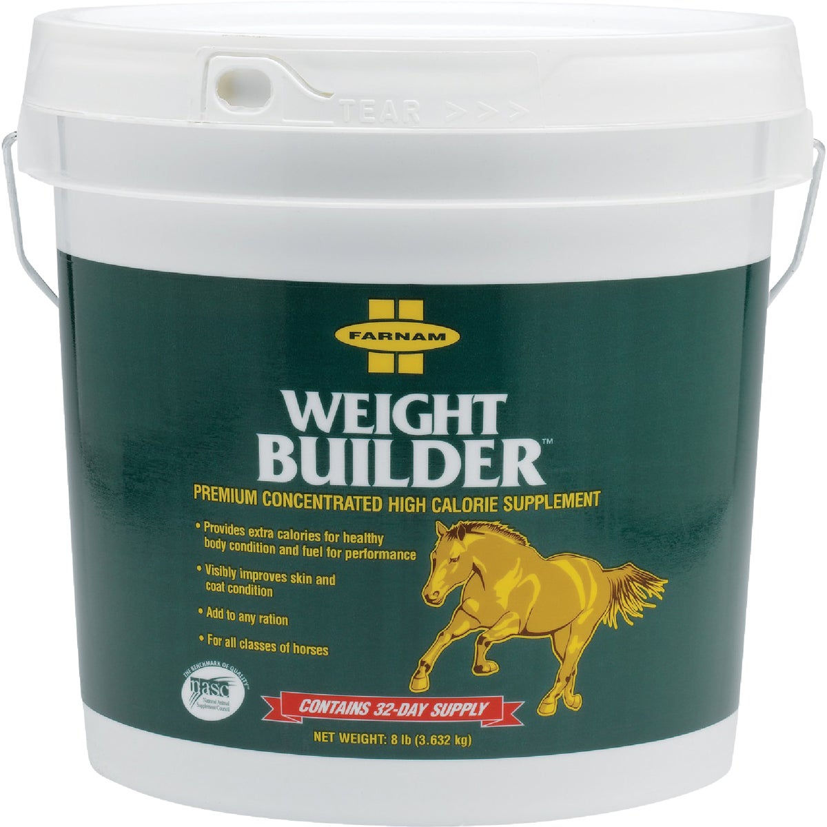 8LB WEIGHT BUILDER - 13701 by Farnam Central Life