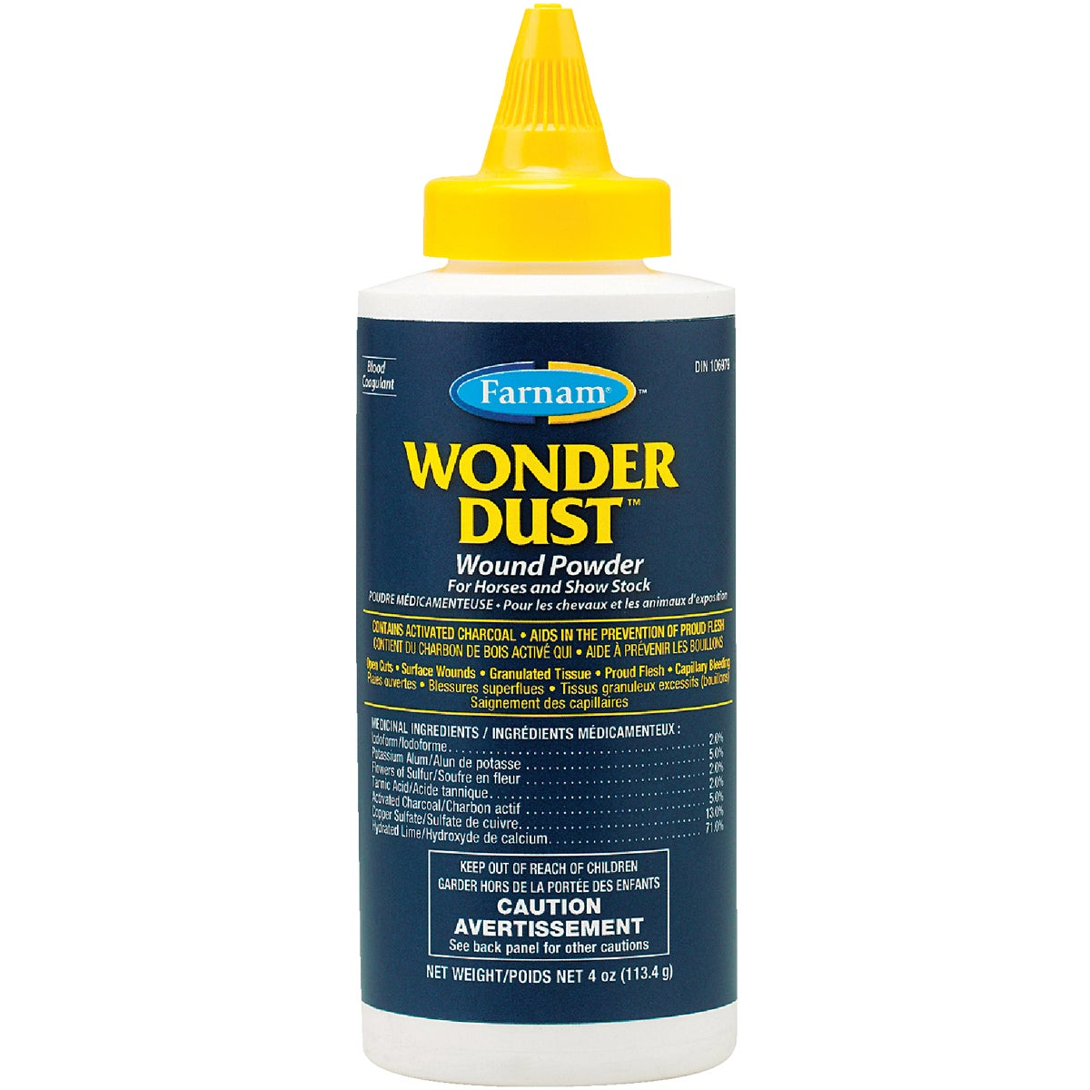 4OZ WONDER DUST - 31101 by Farnam Central Life