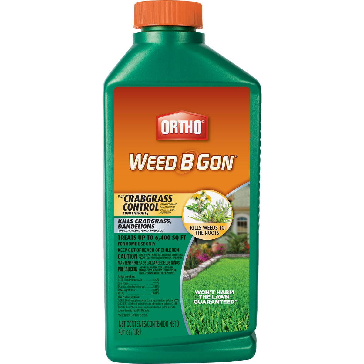 Ortho Weed B Gon Max Plus Crabgrass Control Crabgrass & Weed Killer