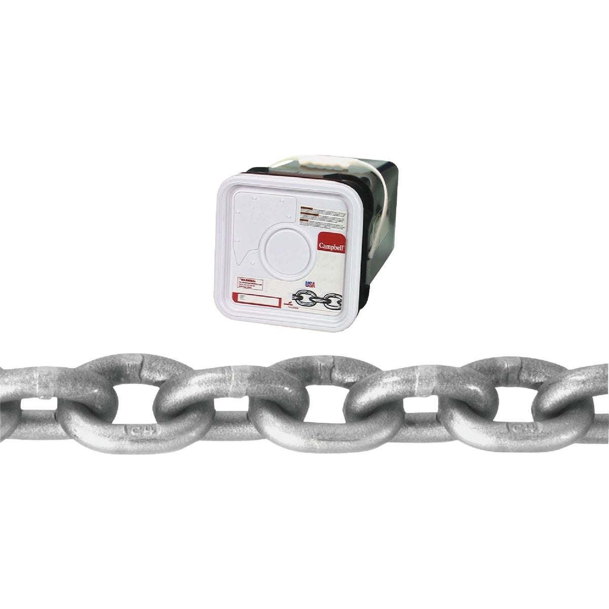 "100' 1/4"" G43 CHAIN - 0184416 by Cooper Campbell Apex"