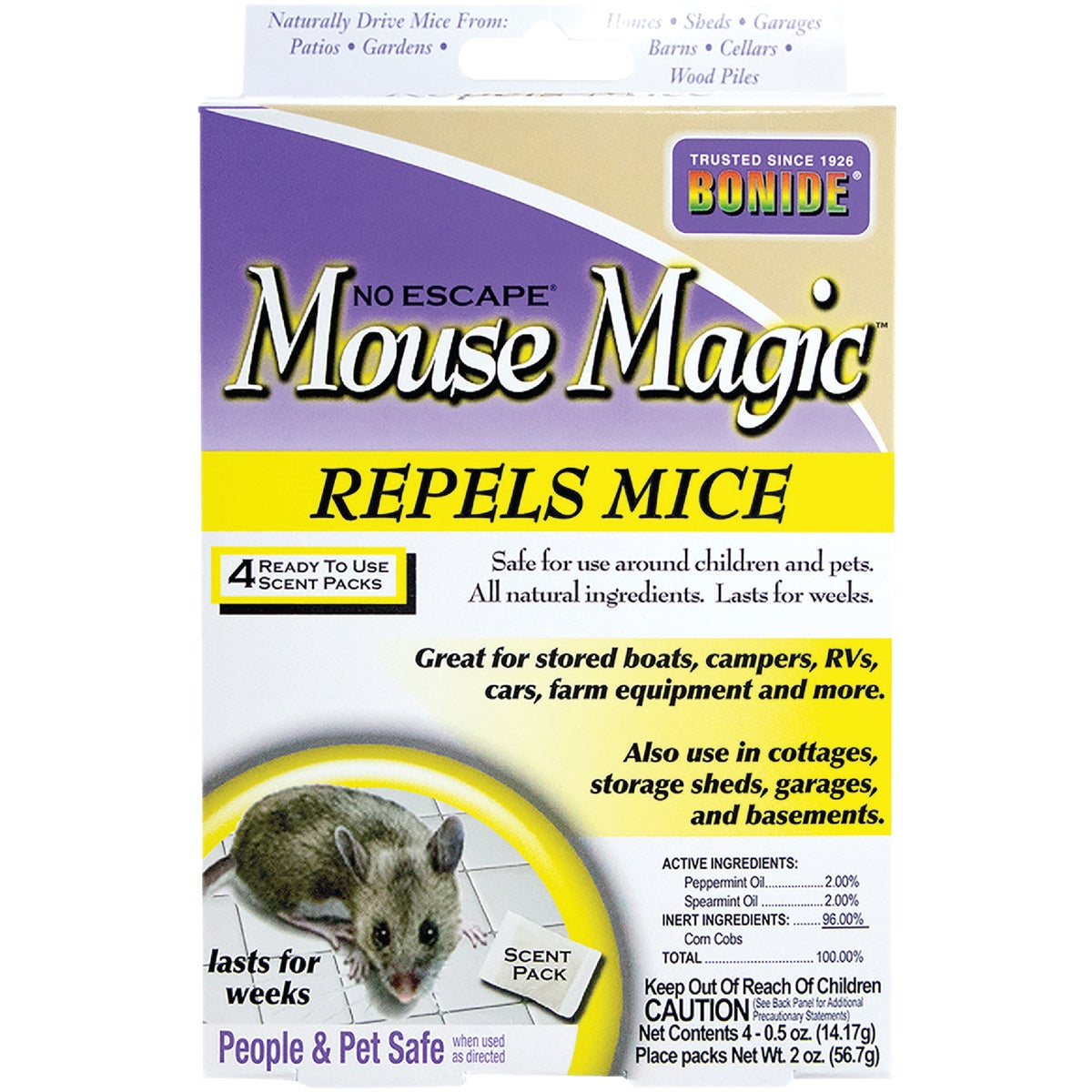 NAT GRAN MOUSE REPELLENT - 865 by Bonide