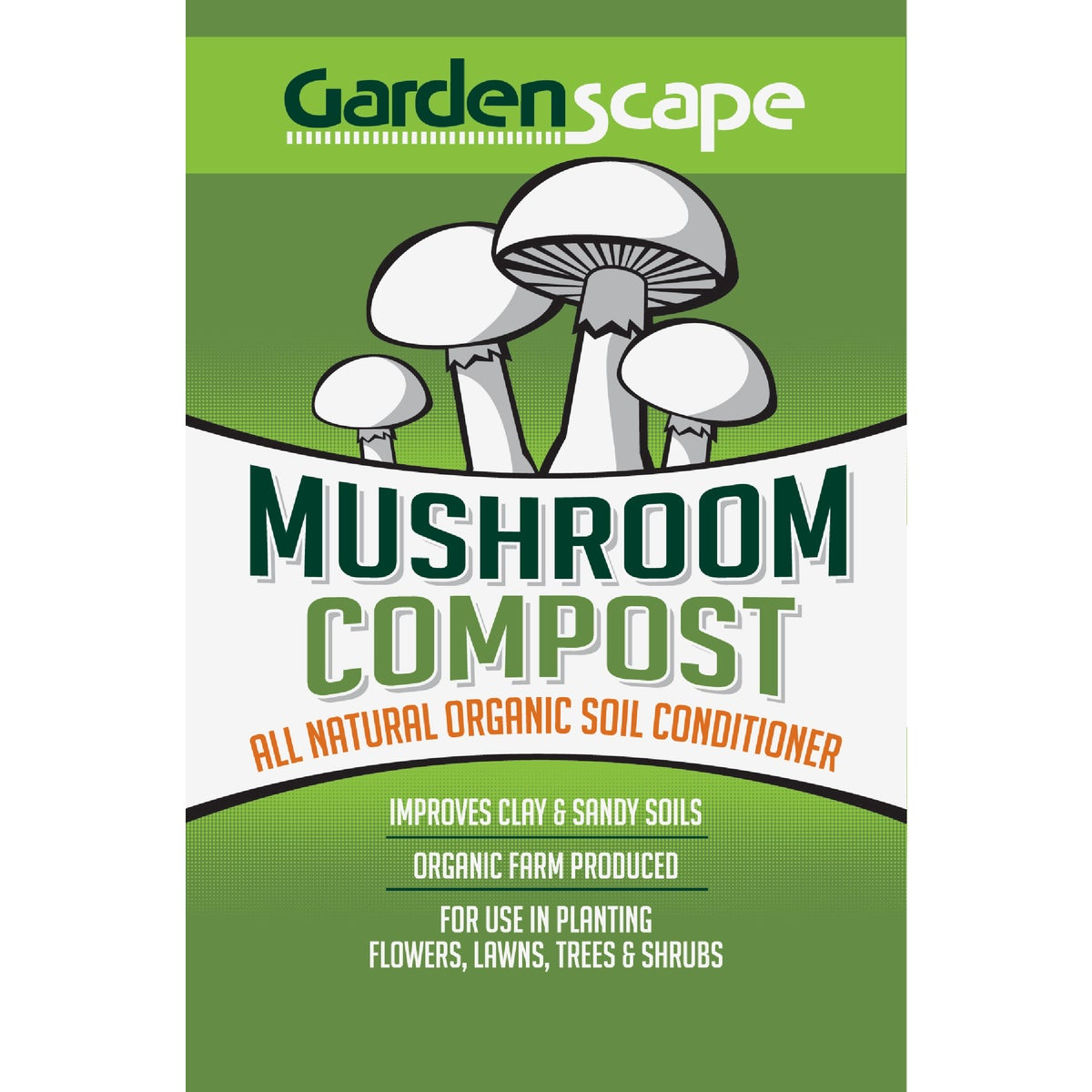 40LB MUSHROOM COMPOST - 96300 by Country Stone Inc