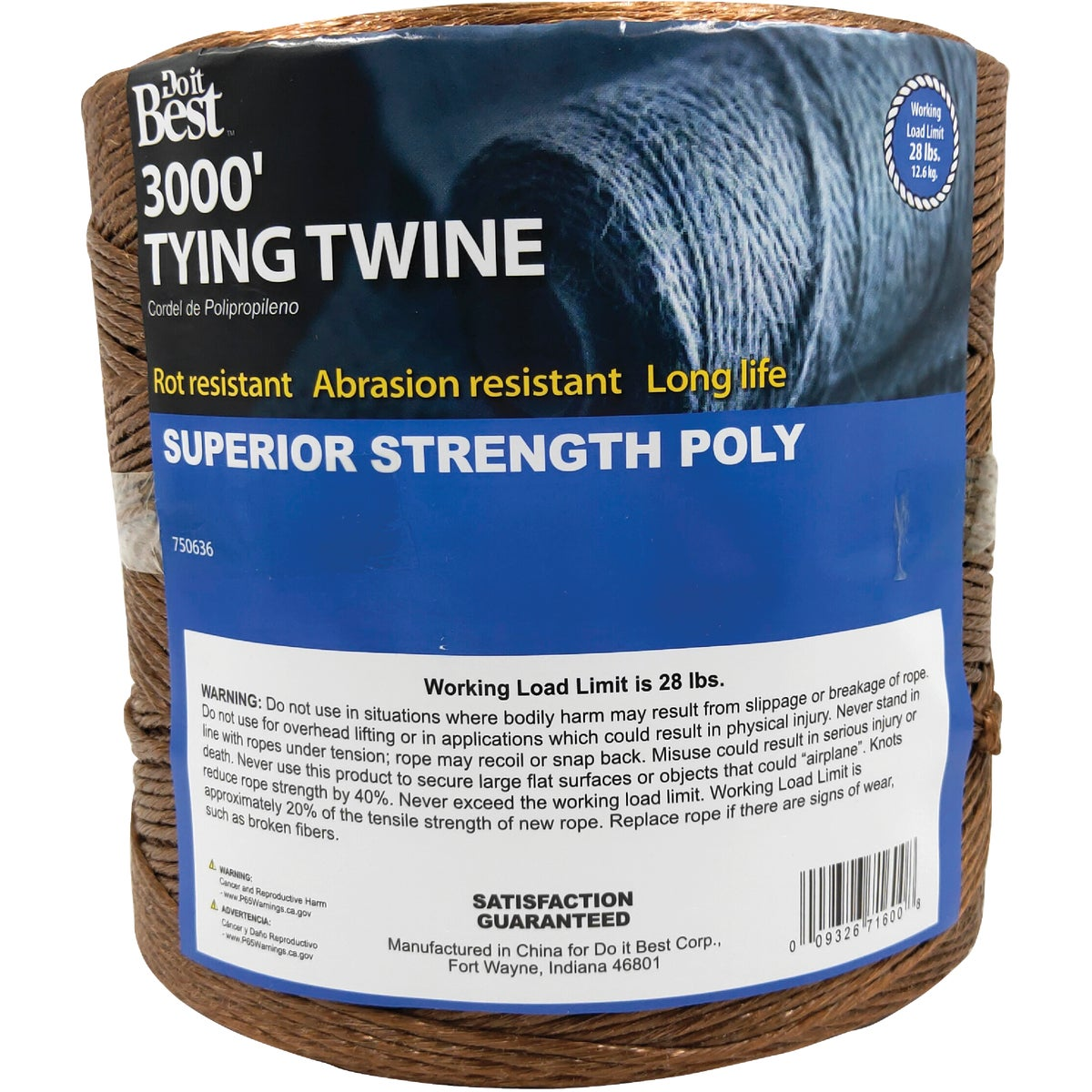 3000' TYING TWINE - 750636 by Do it Best