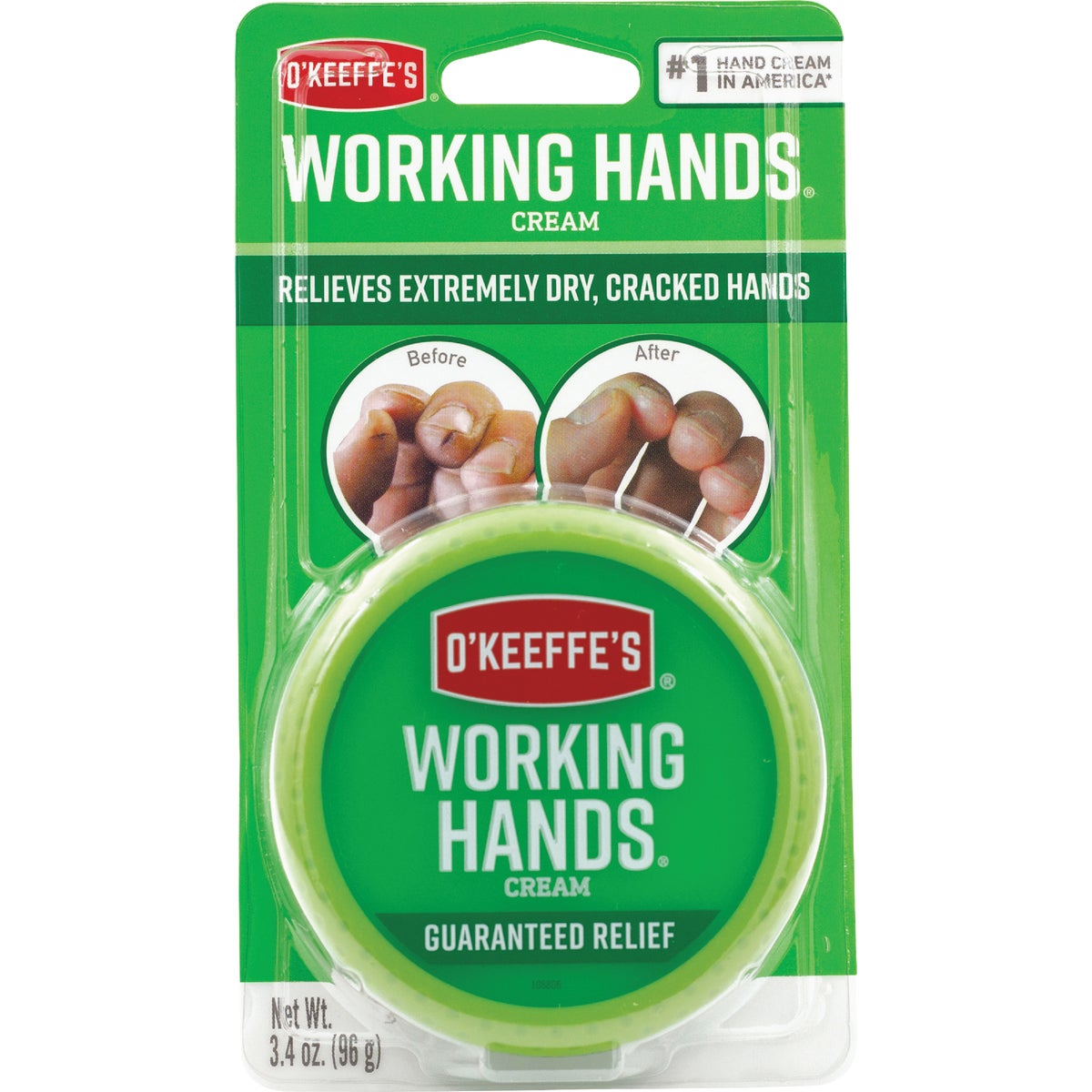 3.4 WORKING HANDS CREME - TR3500-6 by Gorilla Glue Co