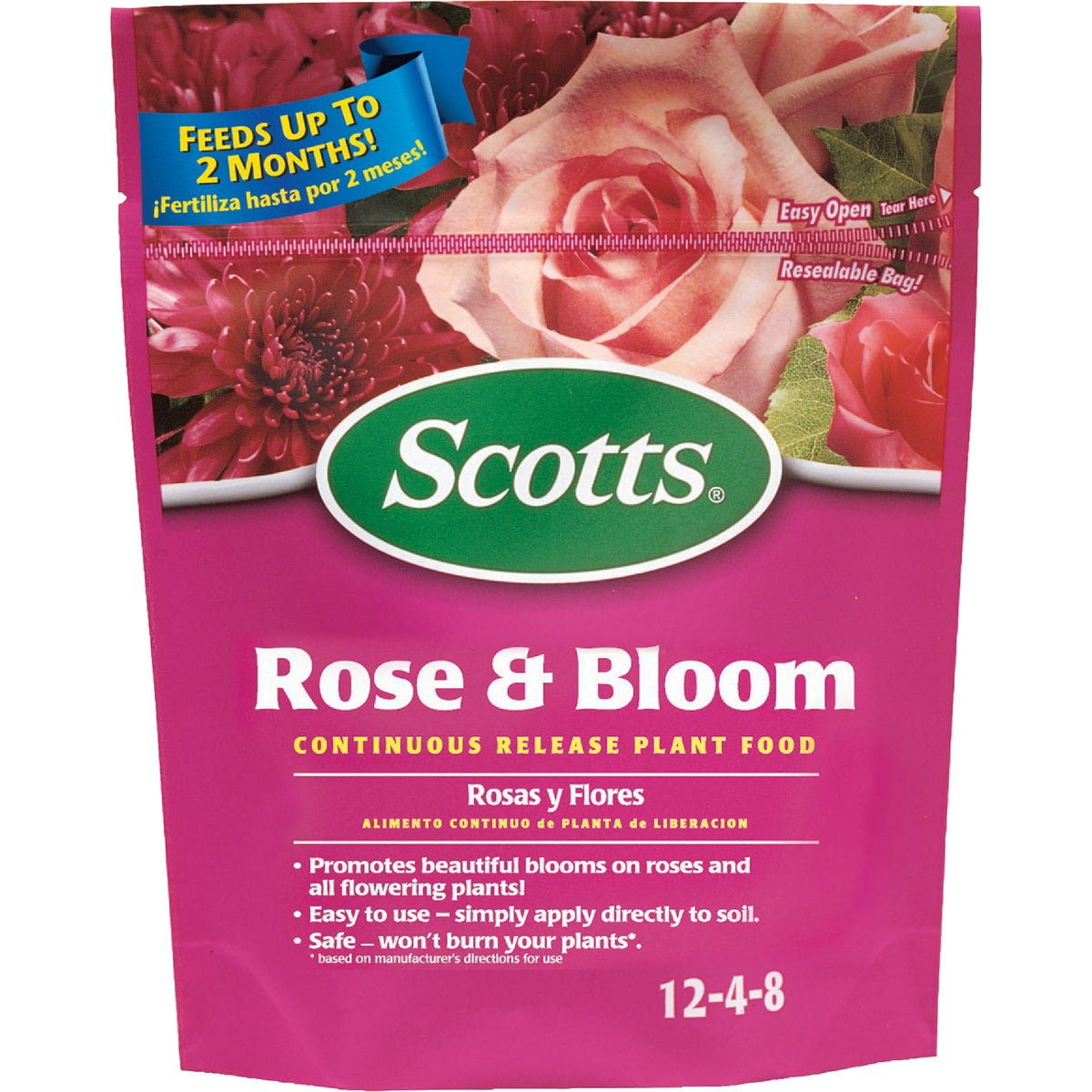 3LB ROSE & BLOOM FOOD - 1009501 by Scotts Company