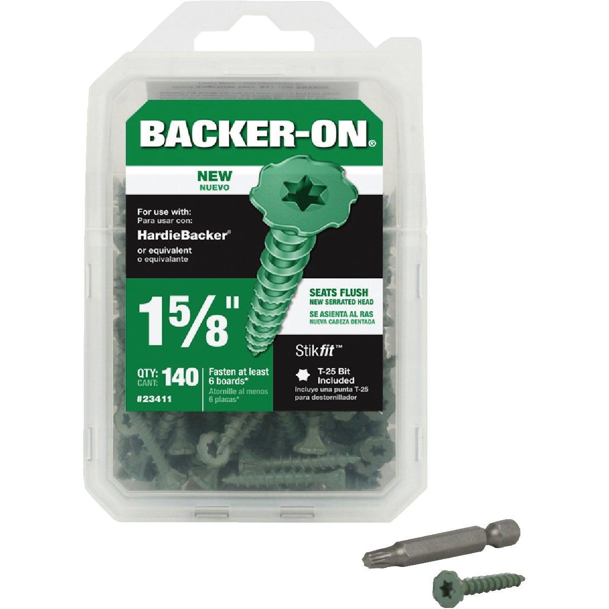 Buildex Backer-On Cement Board Screw