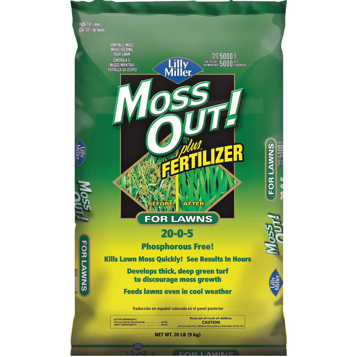 P-FREE MOSS OUT + FERT - 100508947 by Excel Marketing
