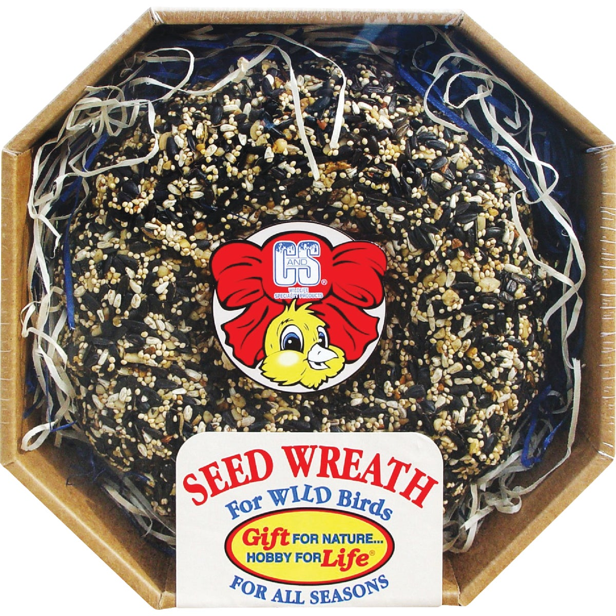 2.6LB SEED WREATH - 249 by C & S Products Inc