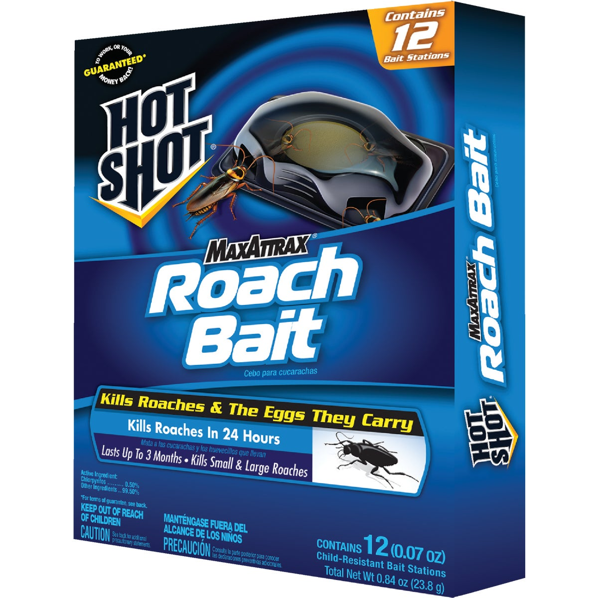 6PK ROACH BAIT TRAP - HG2030W by United Industries Co