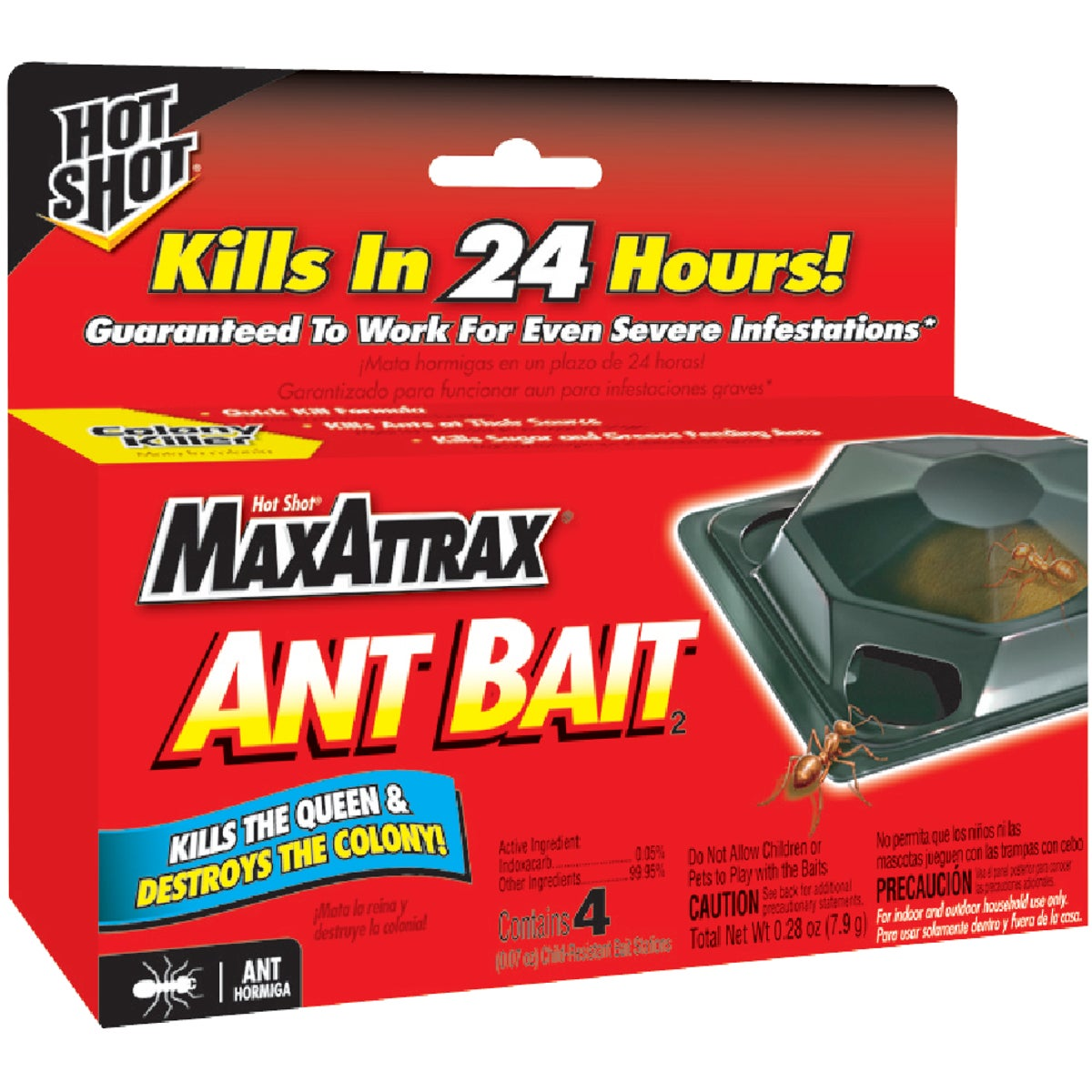 4PK ANT BAIT TRAP - 2040W by United Industries Co