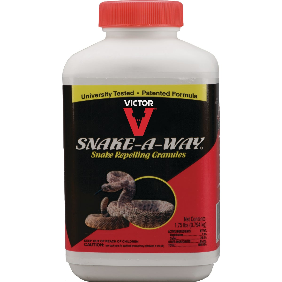 1.75LB SNAKE REPELLENT - DT363 by Woodstream Corp