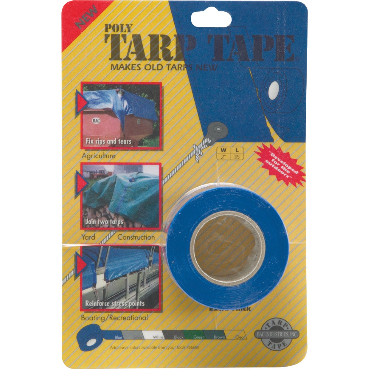 "2""X35' BLUE TARP TAPE - TTB by Gosport Mfg Co"