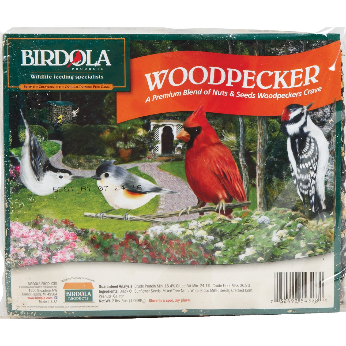 WOODPECKER SNACK CAKE