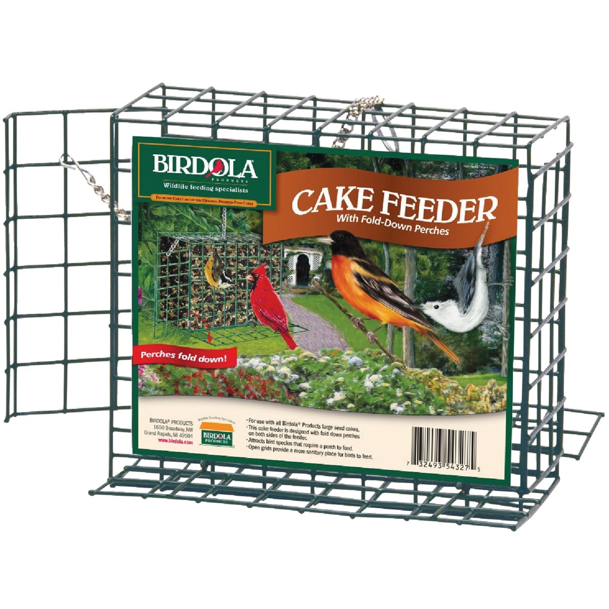 LARGE SNACK CAKE FEEDER - 54327 by United Pet Group