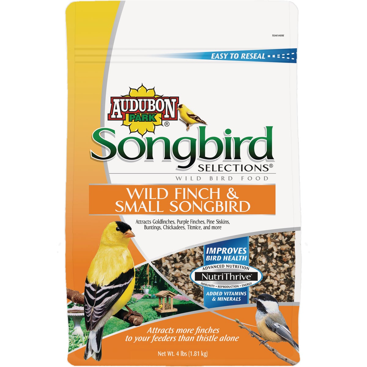 4LB FINCH/SONGBRD BLEND - 1025113 by Scotts Songbird