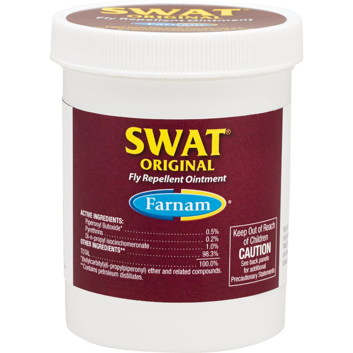 6OZ SWAT FLY OINTMENT - 12301 by Farnam Central Life