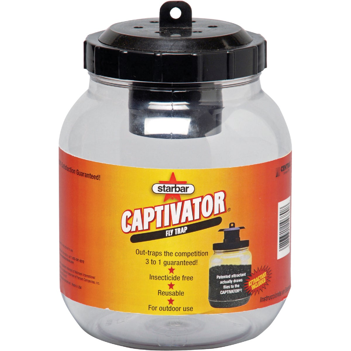 CAPTIVATOR FLY TRAP - 14680 by Farnam Central Life