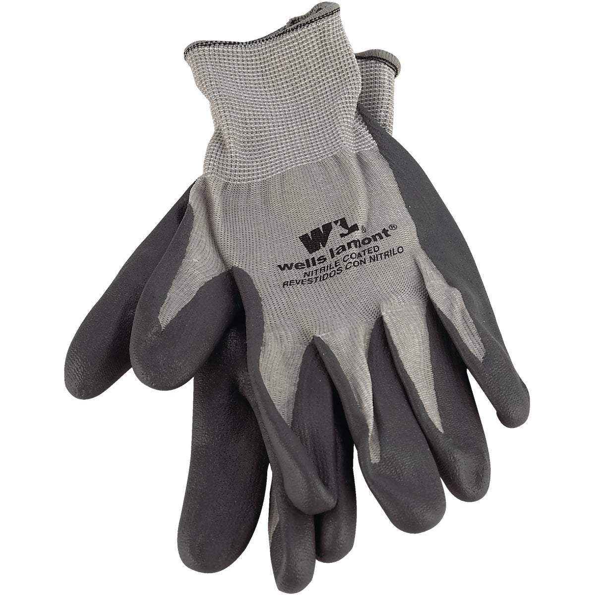 LRG NITRILE KNIT GLOVE - 546L by Wells Lamont