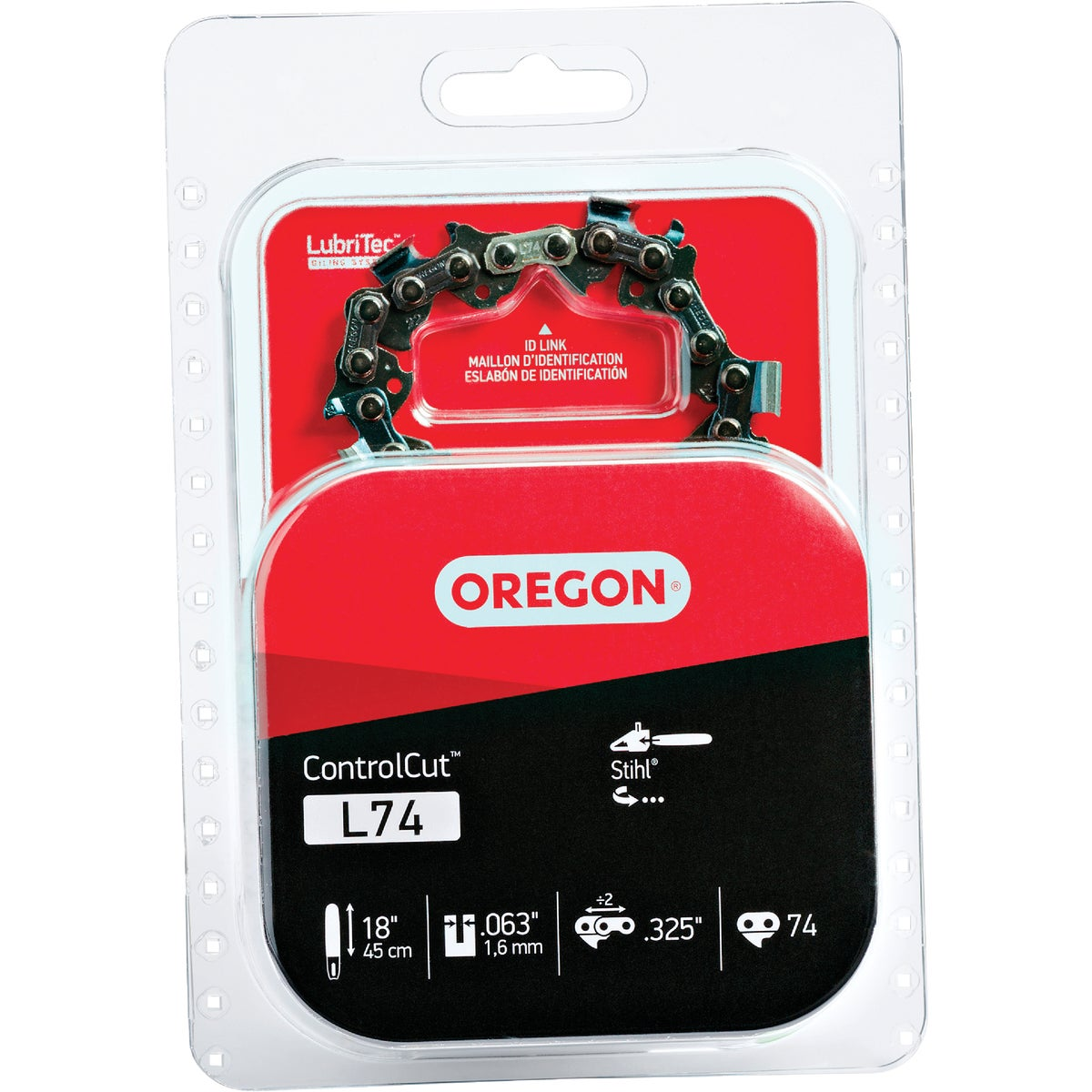 "18"" REPL SAW CHAIN - L74 by Oregon Cutting Systm"