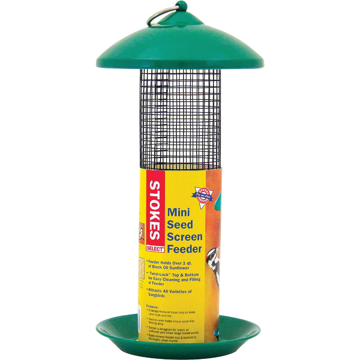 MINI SCREEN SEED FEEDER - 38177 by Hiatt Mfg