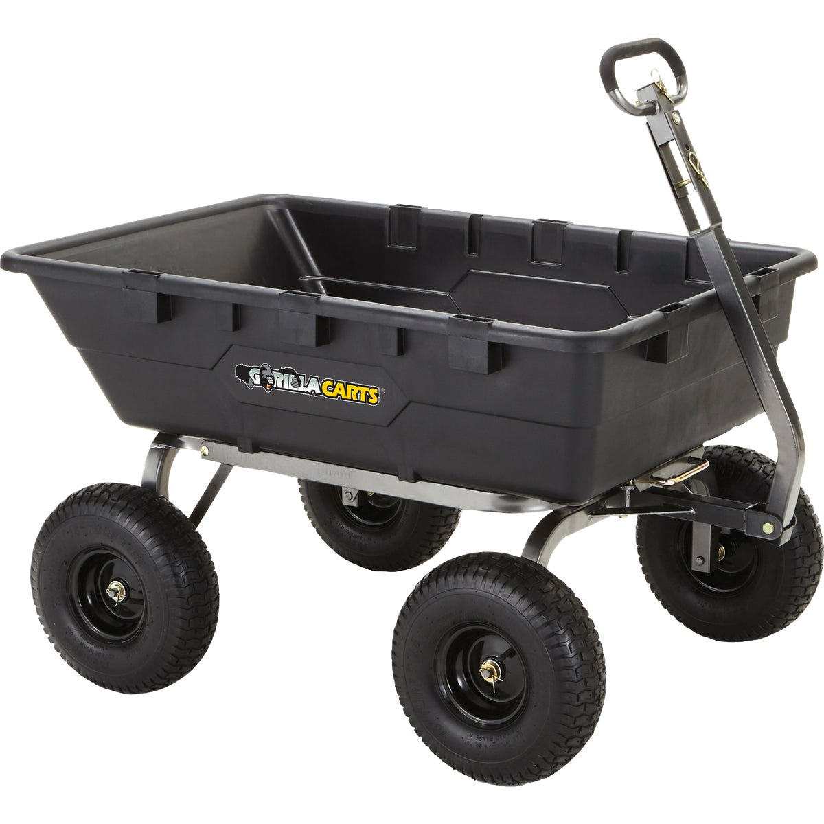 Tricam Industries Gorilla Carts Poly Tow Behind Cart Gor10