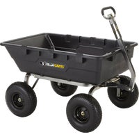 Gorilla Carts Poly Tow-Behind Cart, GOR10