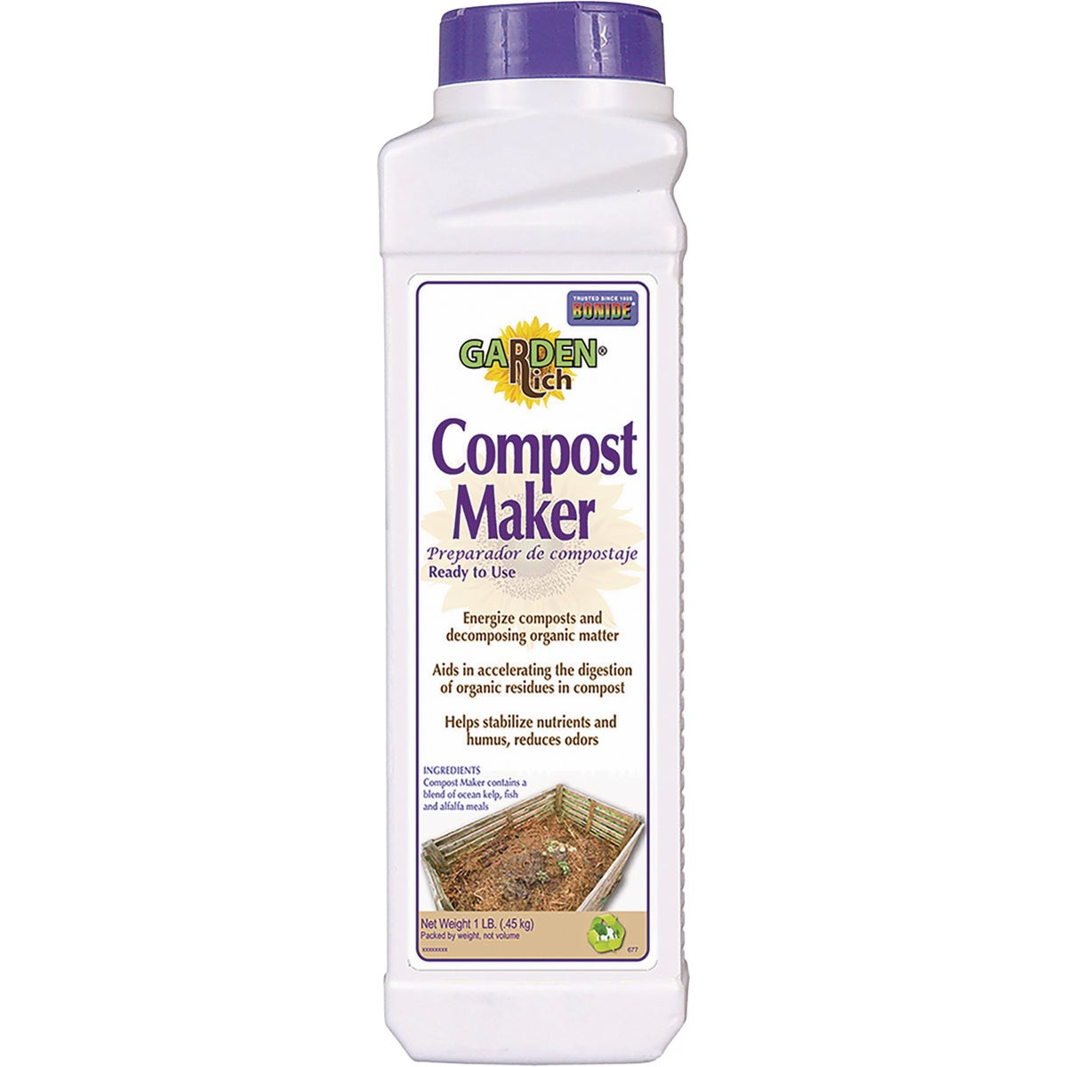 1LB COMPOST MAKER - 677 by Bonide