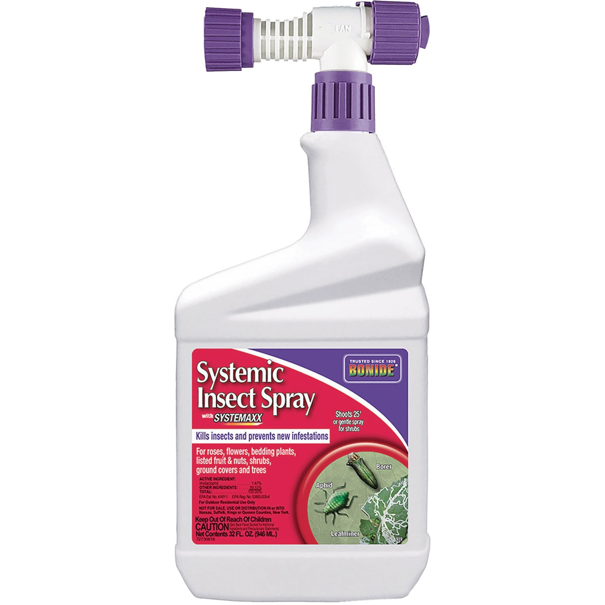 QT SYS INSECT KILLER - 939 by Bonide