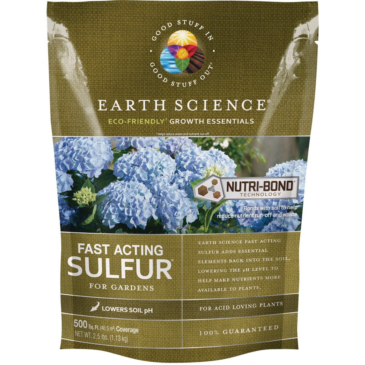 2.5LB GARDEN SULFUR - 10615-6 by Encap Llc