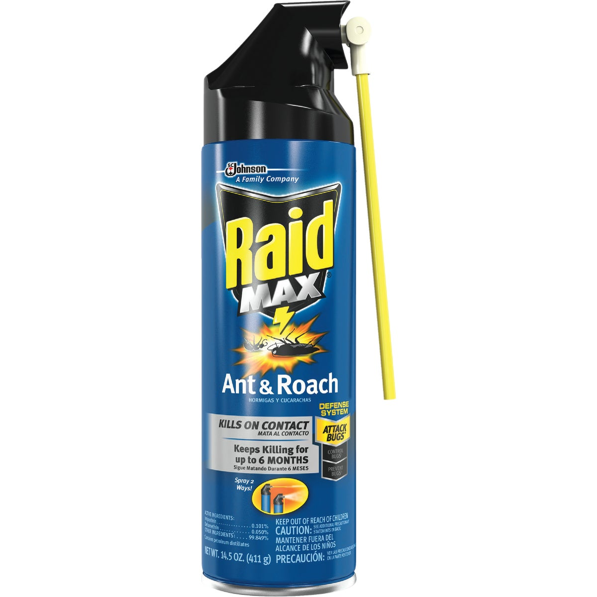 RAID ANT/ROACH KILLER - 70261 by Sc Johnson