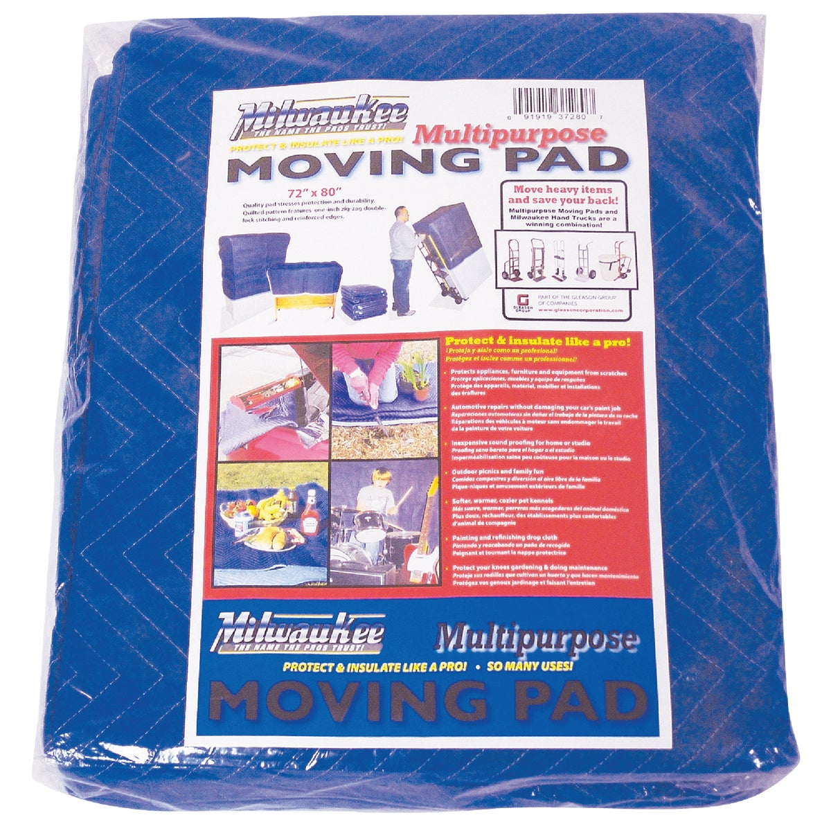 "72""X80"" MOVERS BLANKET - 37280 by Gleason Indust Prod"