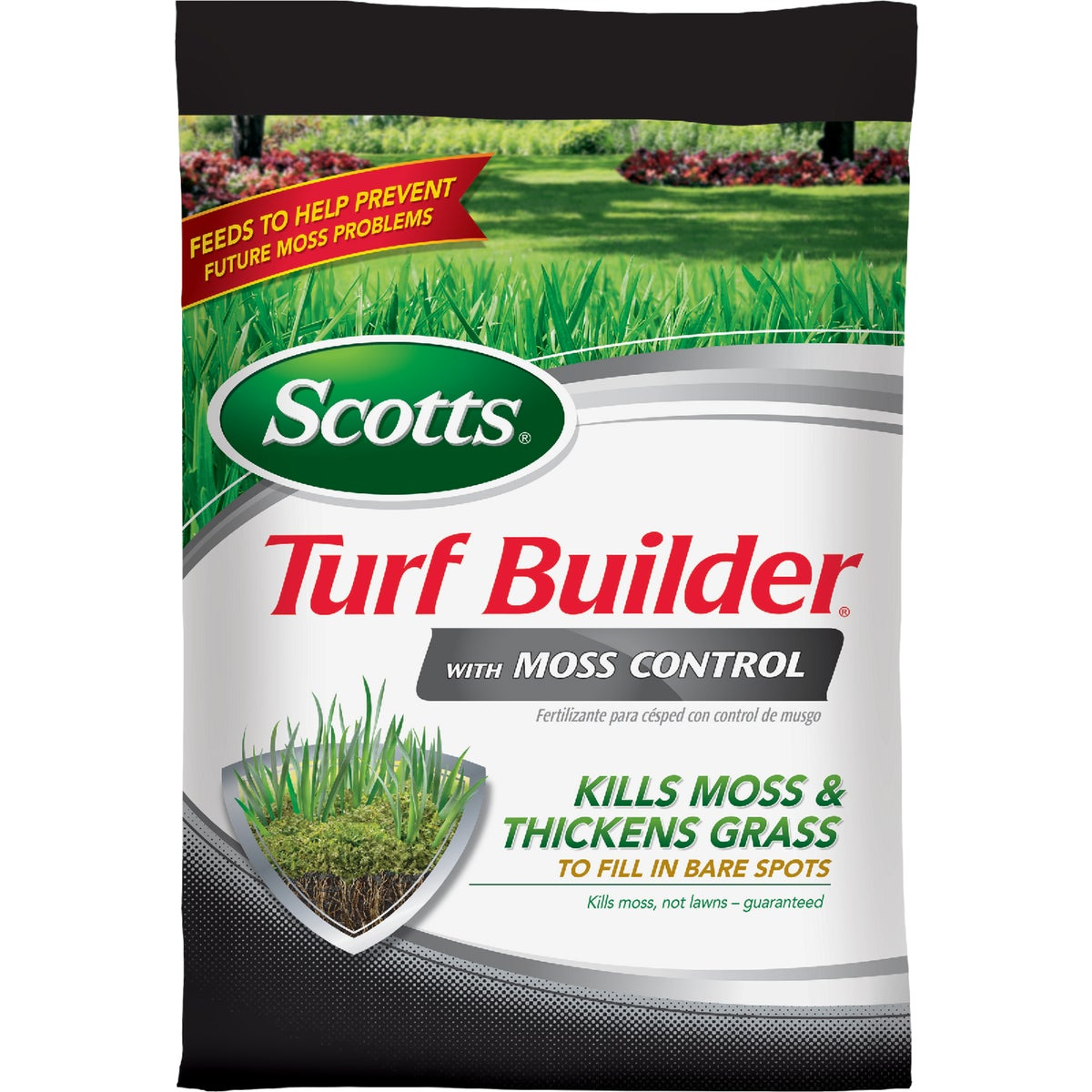 The Scotts Co. 5M FERT + MOSS CONTROL 33505