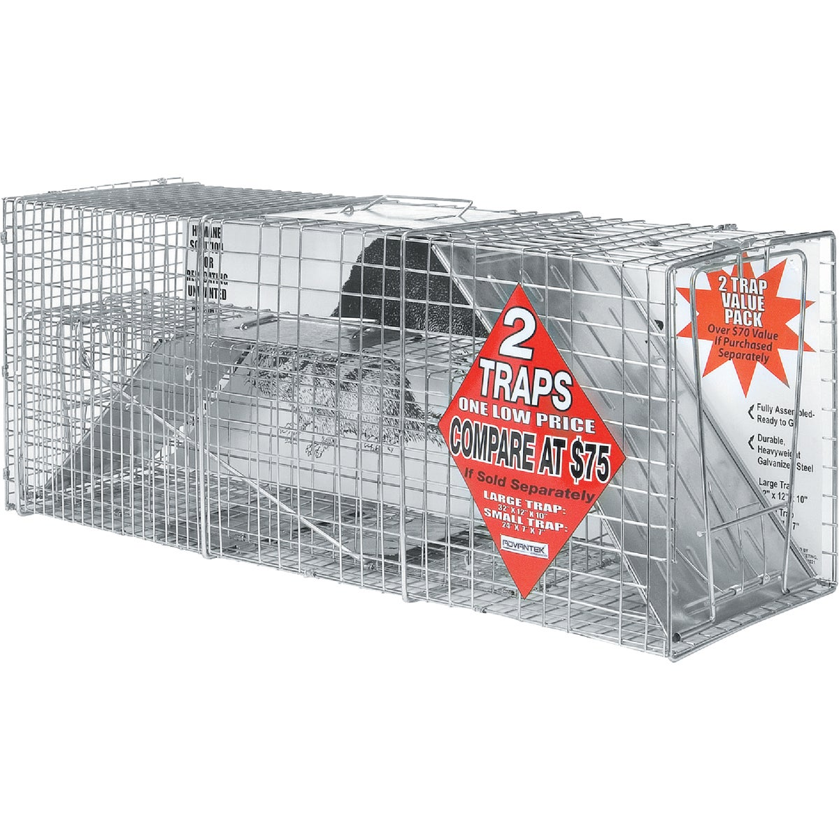 2PK CATCH & RELEASE TRAP - 20050 by Advantek Marketing