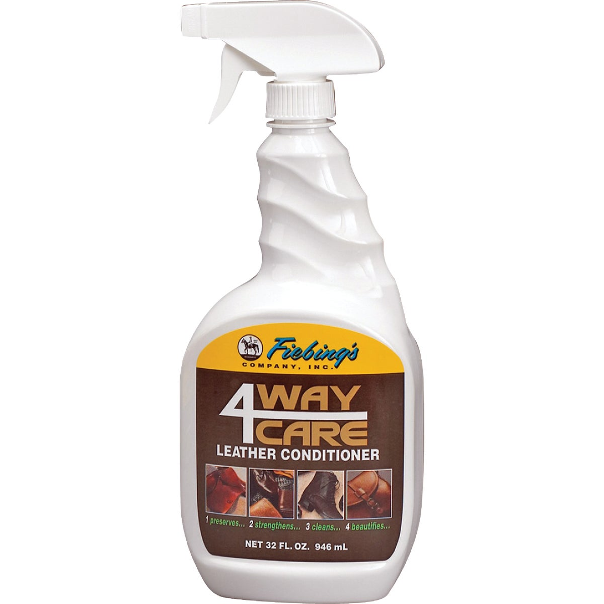 32OZ 4WAY LEATHER SPRAY - CARE00S032Z by Fiebing