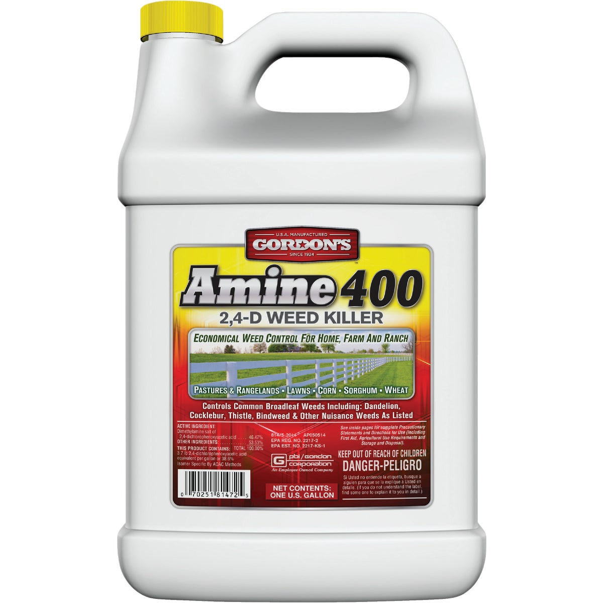 GAL AMINE 400 WEEDKILLER - 8141072 by P B I/gordon Corp