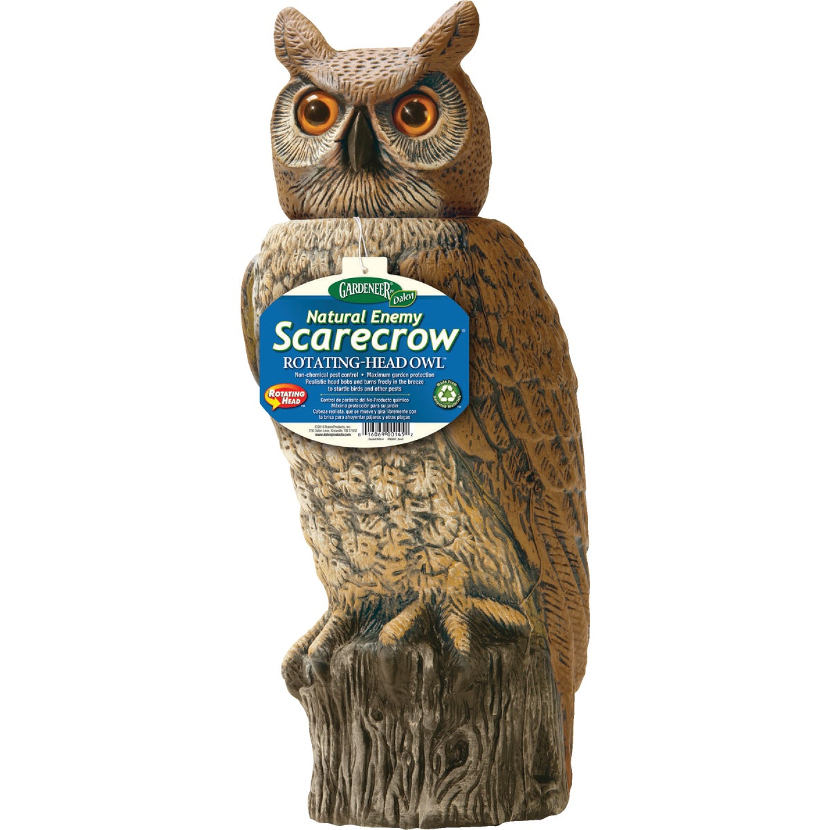OWL W/ROTATING HEAD