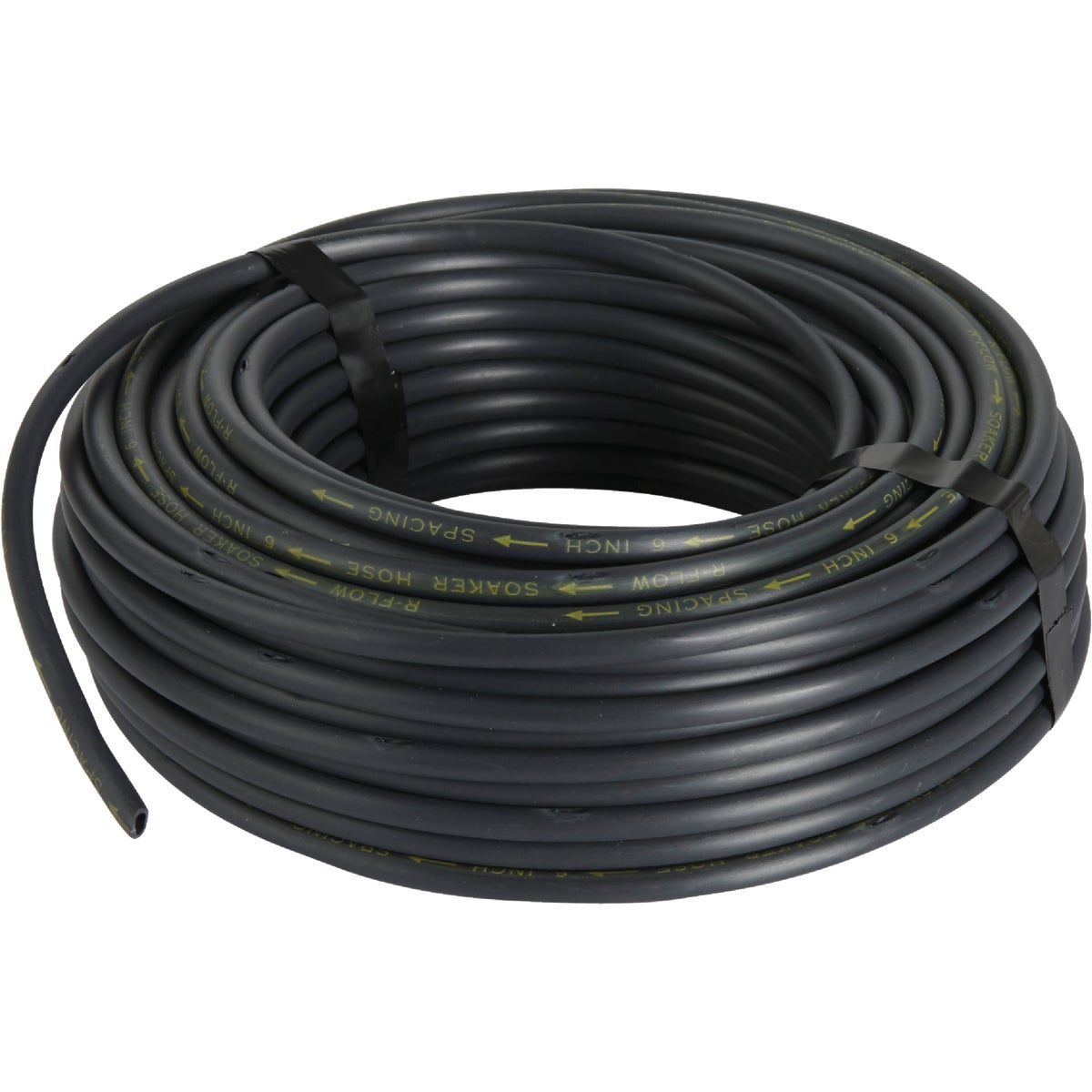 "1/4""X100'BLK SOAKER HOSE - 018010T by Raindrip Inc"