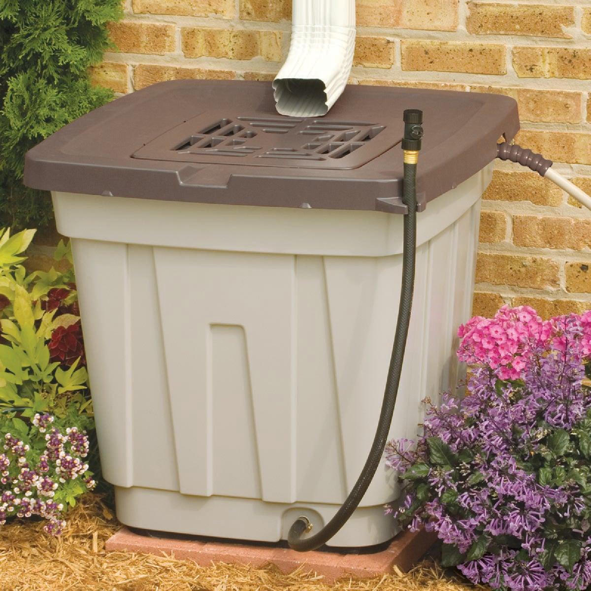 52 GAL RAIN BARREL - RB5010PK by Suncast Corporation