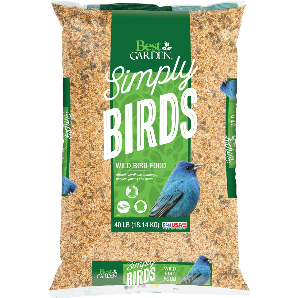 40LB WILD BIRD SEED - 308 by Red River Commod