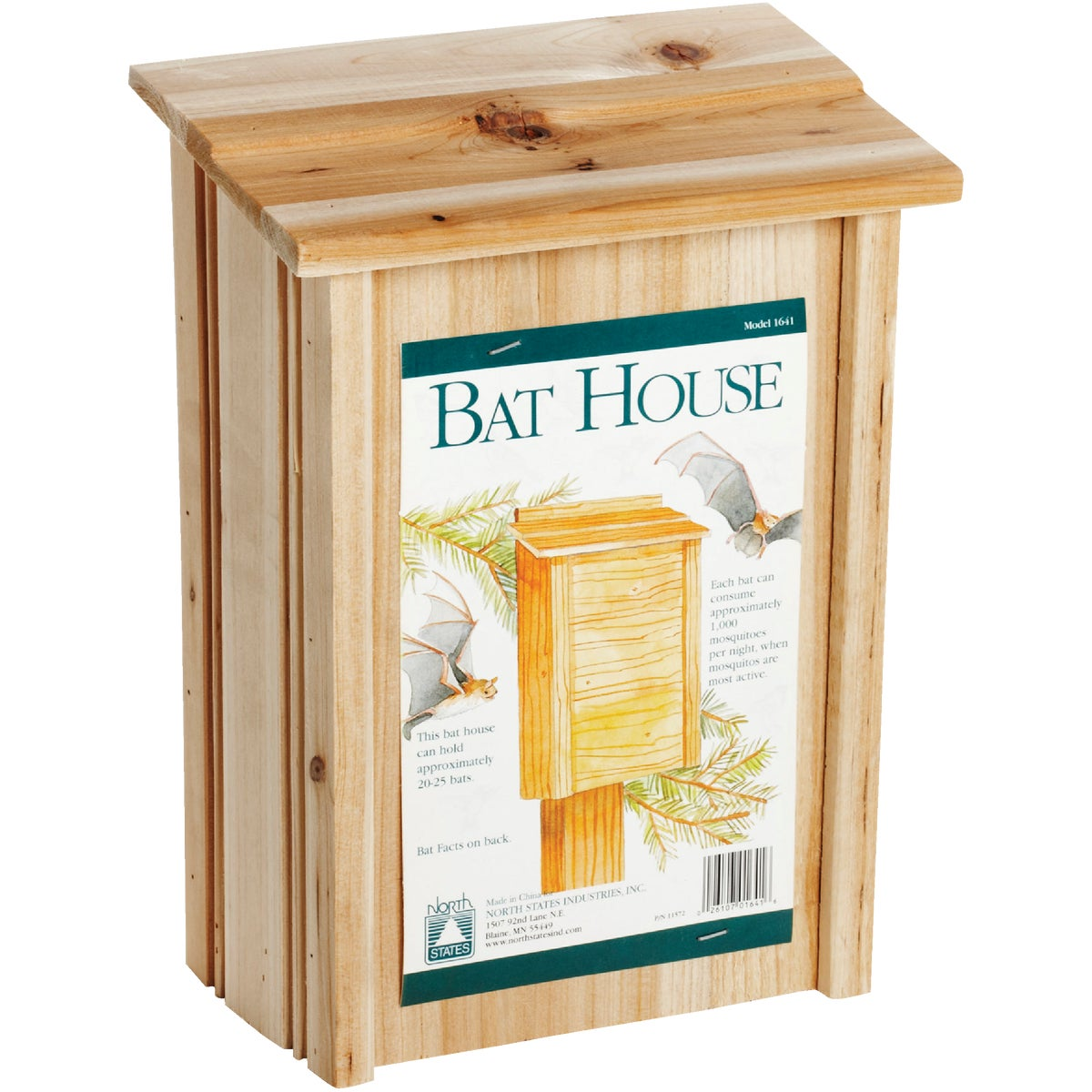 BAT HOUSE - 1641 by North State Ind
