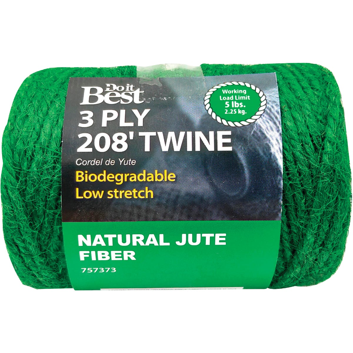 208' 3PLY JUTE TWINE - 757373 by Do it Best
