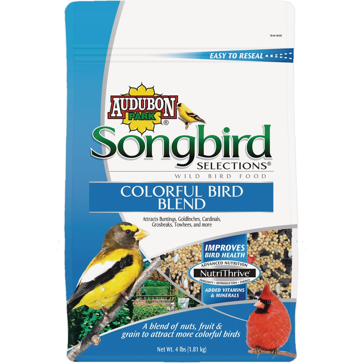 4LB COLORFUL BIRD BLEND - 1025103 by Scotts Songbird