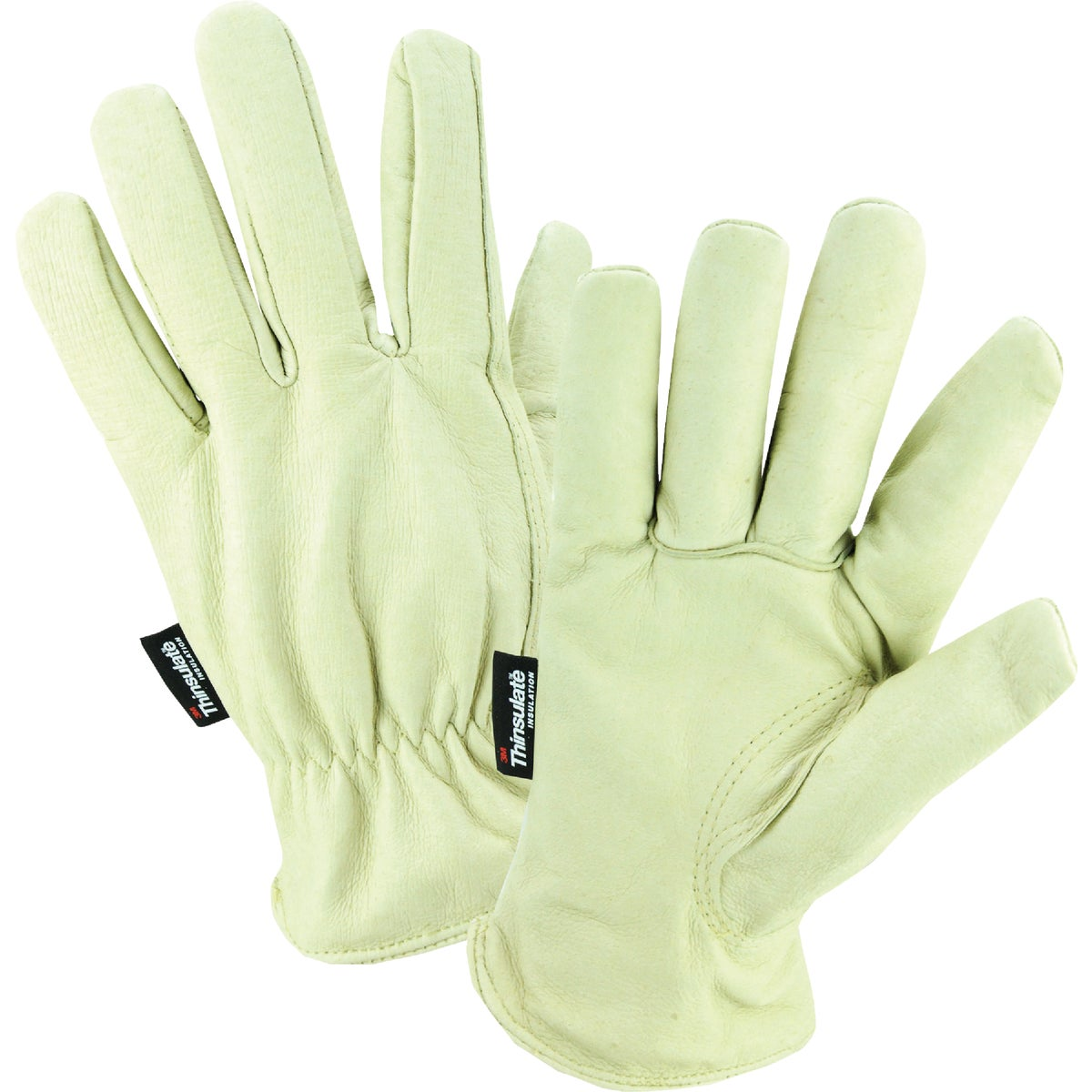 LRG LEATHER LINED GLOVE - 1108L by Wells Lamont