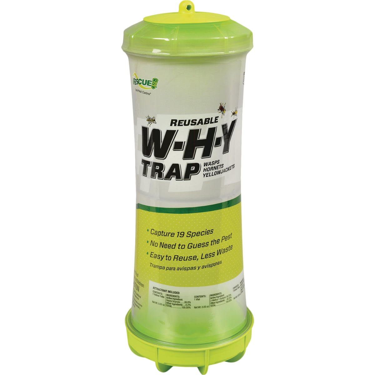 REUSABL WASP HORNET TRAP - WHYTR-BB8 by Sterling Intl
