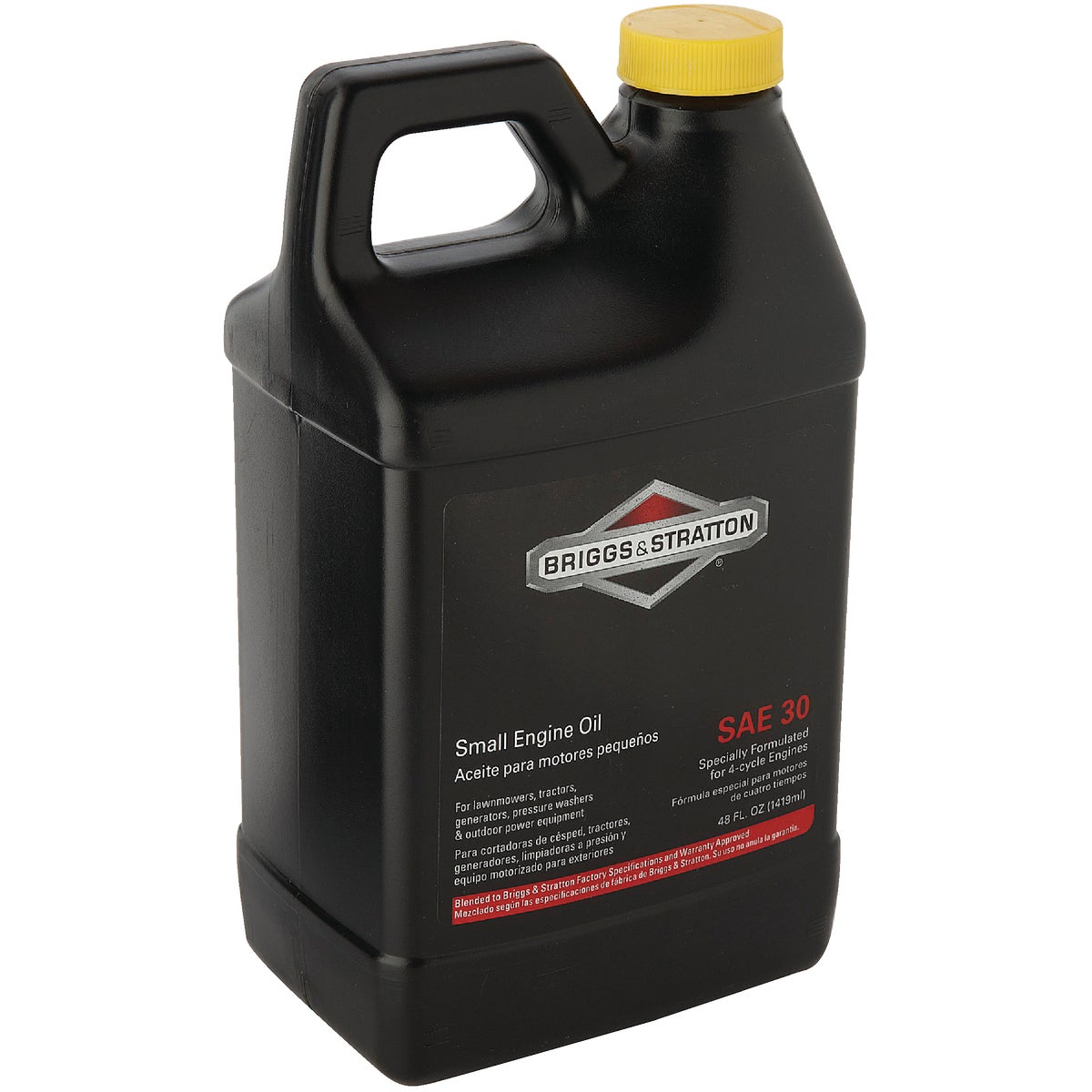 48OZ 4-CYCLE 30W OIL - 100028 by Centrl Pwr Sys/brigg