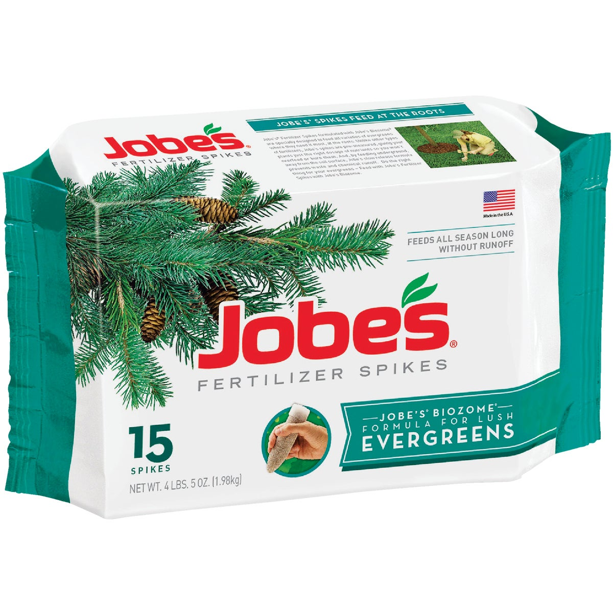 15PK EVERGREEN SPIKES - 01611 by Easy Gardener Inc